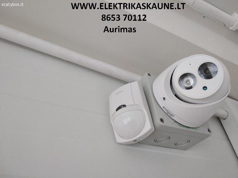 Apsaugos sistemos, vaizdo kameros 8653 70112