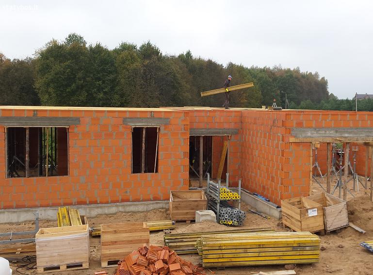 Mūro darbai Vilniuje