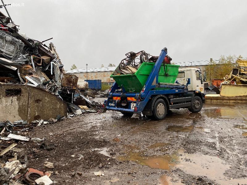 Statybinių konteinerių nuoma Vilniuje ir Vilniaus rajone