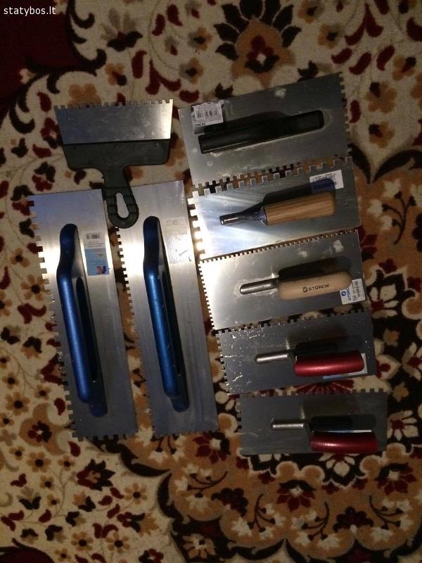 Statybos NAUJI įrankiai