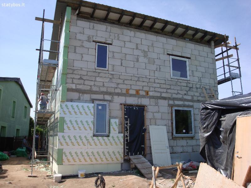 Statybos, remonto darbai
